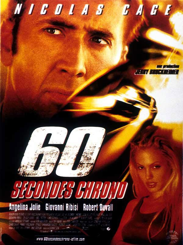 60 secondes chrono affiche