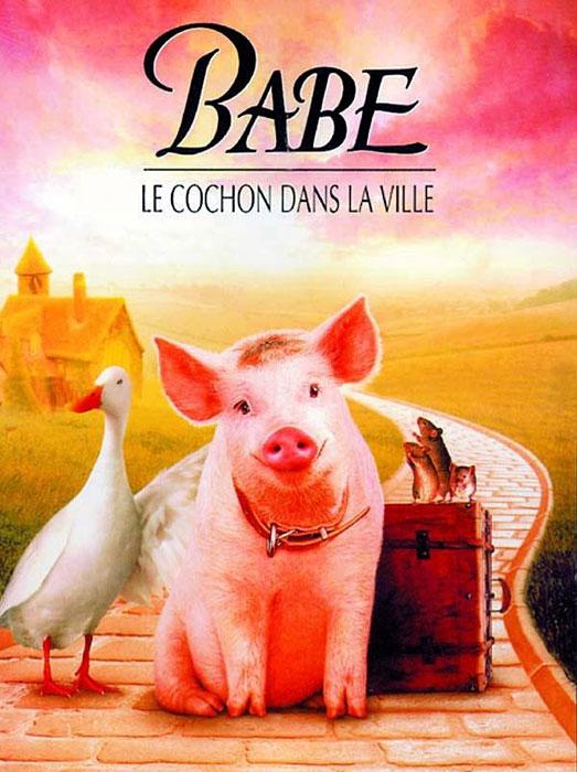 Pink Floyd : Animals (1977) Affiche-Babe-le-Cochon-dans-la-ville
