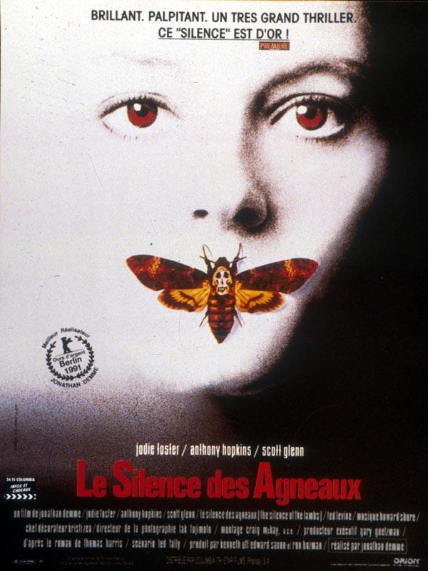 affiche film Hannibal Lecter 2 - Le Silence des agneaux